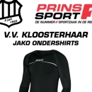 v.v. Kloosterhaar - actie ondershirts (06-10-2018)